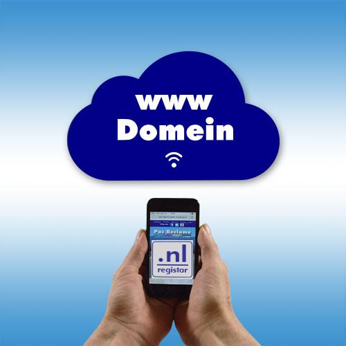 Domein en hosting al vanaf €15,- per jaar